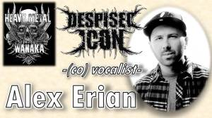 Alex Erian from Despised Icon on The Heavy Metal Wanaka Podcast