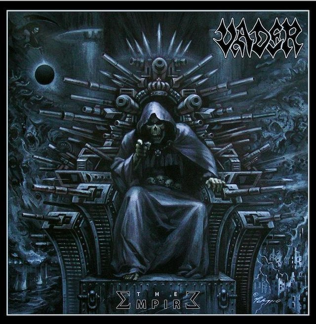 The Empire by Vader. Heavy metal, death metal music