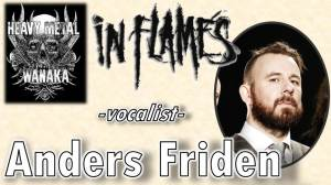 Anders Friden from In Flames on Heavy Metal Wanaka
