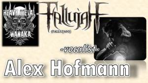 Alex Hofmann from Fallujah (Band) on the Heavy Metal Wanaka Podcast.