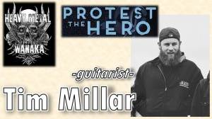 Tim Millar from Protest the Hero on Heavy Metal Wanaka